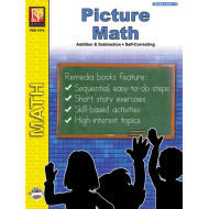 Picture Math: Fun, Self-Checking Addition & Subtraction Practice (eBook)