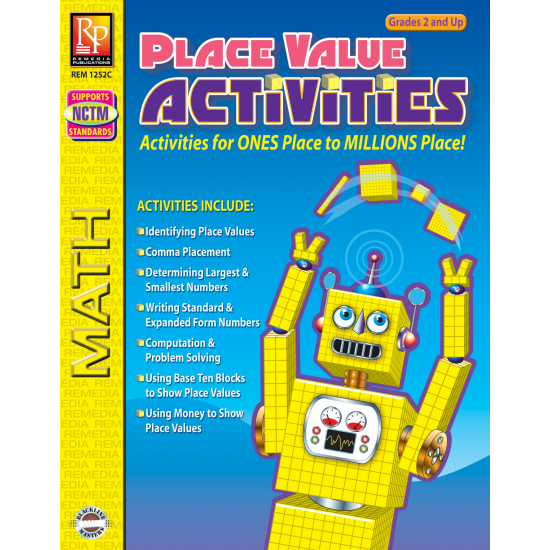 Place Value Activities (eBook)