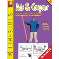 Practical Practice Reading: Ads & Coupons (Enhanced eBook)