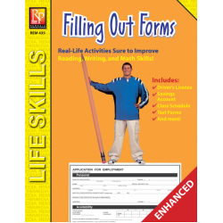 Practical Practice Reading: Filling Out Forms (Enhanced eBook)