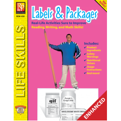 Practical Practice Reading: Labels & Packages (Enhanced eBook)