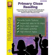 Primary Cloze Reading - Grade 1 (eBook)