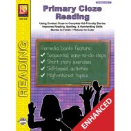 Primary Cloze Reading - Grade 1 (Enhanced eBook)