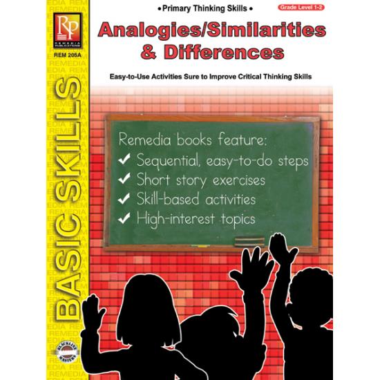 Primary Thinking Skills: Analogies, Similarities & Differences (eBook)