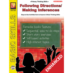 Primary Thinking Skills: Following Directions / Making Inferences (Enhanced eBook)