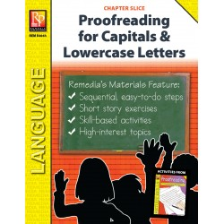 Proofreading for Capital Letters & Lowercase Letters (Chapter Slice)