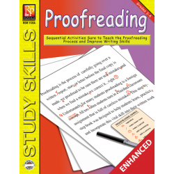 Proofreading - Grades 3-4 (Enhanced eBook)