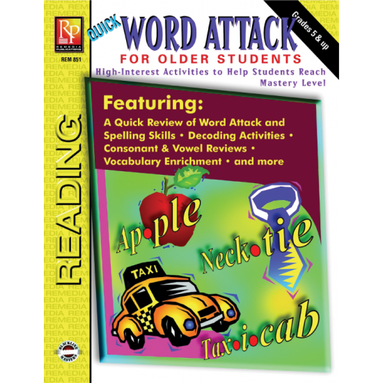 Word Attack Phonics & Decoding for Older Students (eBook)