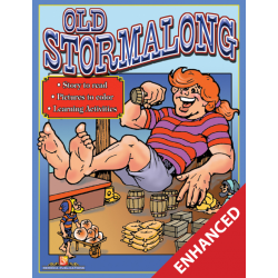 Old Stormalong: Read & Color (Enhanced eBook)