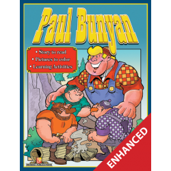 Paul Bunyan: Read & Color (Enhanced eBook)