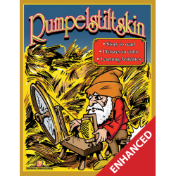 Rumpelstiltskin: Read & Color (Enhanced eBook)