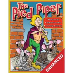 The Pied Piper: Read & Color (Enhanced eBook)