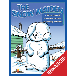 The Snow Maiden: Read & Color (Enhanced eBook)