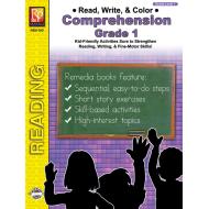 Read, Write, & Color: Comprehension - Grade 1 (eBook)