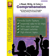Read, Write, & Color: Comprehension - Grades 1-2 (eBook)