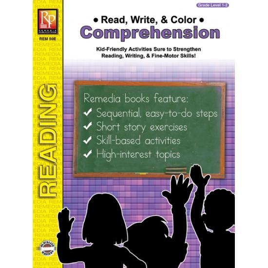 Read, Write, & Color: Comprehension - Grades 1-2 (eBook)