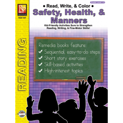 Read, Write, & Color: Safety, Health, & Manners (eBook)