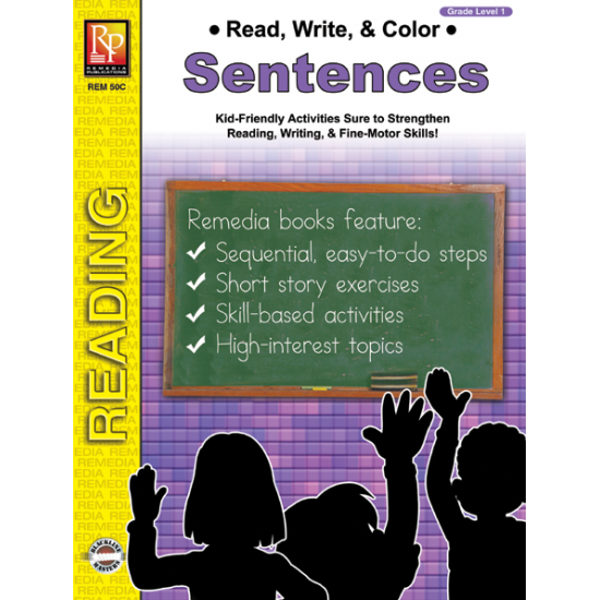 Read, Write, & Color: Sentences (eBook)