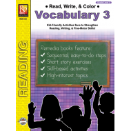 Read, Write, & Color: Vocabulary 3 (eBook)