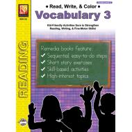 Read, Write, & Color: Vocabulary 3 (eBook)