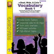 Read, Write, & Color: Vocabulary 1 (eBook)