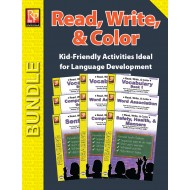 Read, Write, & Color (Bundle)