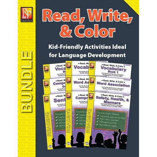 Read, Write, & Color (Bundle)