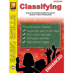 Classifying: Beginning Thinking Skills (Enhanced eBook)