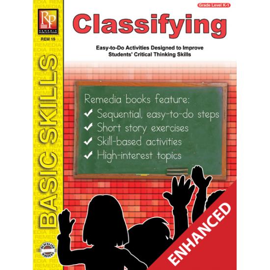 Classifying: Beginning Thinking Skills (Enhanced eBook)