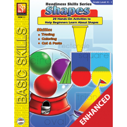 Shapes: Readiness Skills Series 1 (Enhanced eBook)