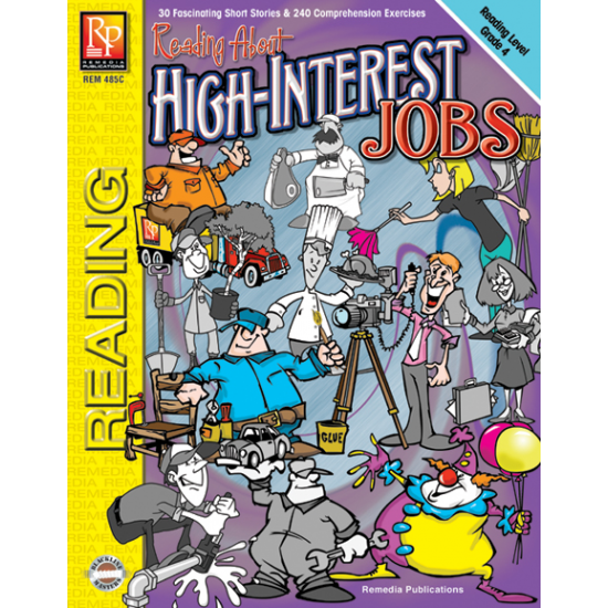 Reading About High-Interest Jobs - Reading Level 4 (eBook)