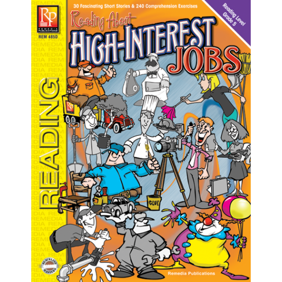 Reading About High-Interest Jobs - Reading Level 5 (eBook)
