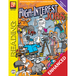 Reading About High-Interest Jobs - Reading Level 5 (Enhanced eBook)
