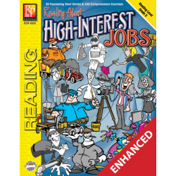 Reading About High-Interest Jobs - Reading Level 2 (Enhanced eBook)