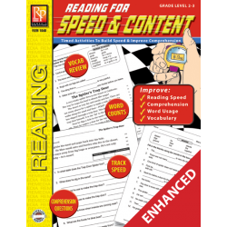 Reading for Speed & Content - Grades 2-3 (Enhanced eBook)
