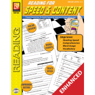 Reading for Speed & Content - Grades 3-4 (Enhanced eBook)