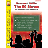 Research Skills: The 50 States (eBook)