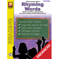 Rhyming Words - Grades 1-2 (Enhanced eBook)