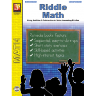 Riddle Math: Fun, Self-Checking Addition & Subtraction Practice (eBook)