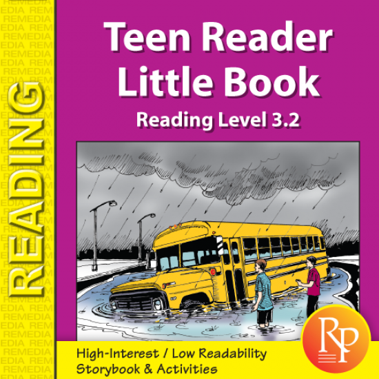 Teen Reader Storybook: Where Did the Road Go? (Reading Level 3.2)