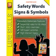 Safety Words Unit: Survival Signs & Symbols Vocabulary (Chapter Slice)