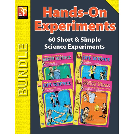 Hands-On Science Experiments (Bundle)