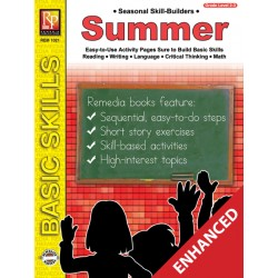 Seasonal Skill-Builders: Summer (Enhanced eBook)