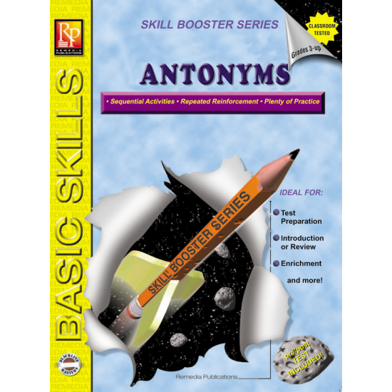 Antonyms: Skill Booster Series (eBook)