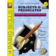 Subjects & Predicates: Skill Booster Series (eBook)