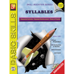 Syllables: Skill Booster Series (Enhanced eBook)