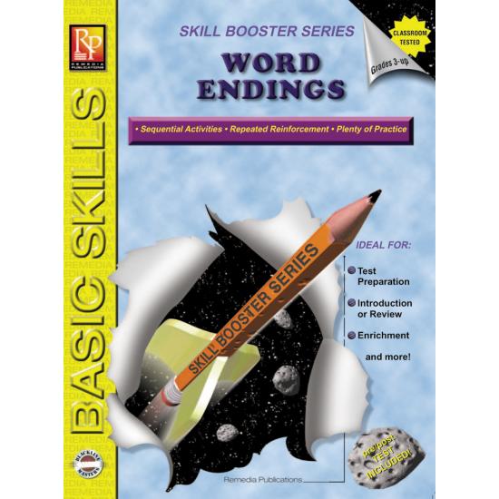 Word Endings: Skill Booster Series (eBook)