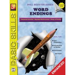 Word Endings: Skill Booster Series (Enhanced eBook)