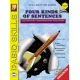Four Kinds of Sentences: Skill Booster Series (Enhanced eBook)