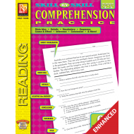 Skill-By-Skill Comprehension Practice - Reading Level 3-5 (Enhanced eBook)